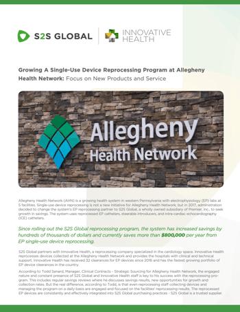 Allegheny Health screenshot